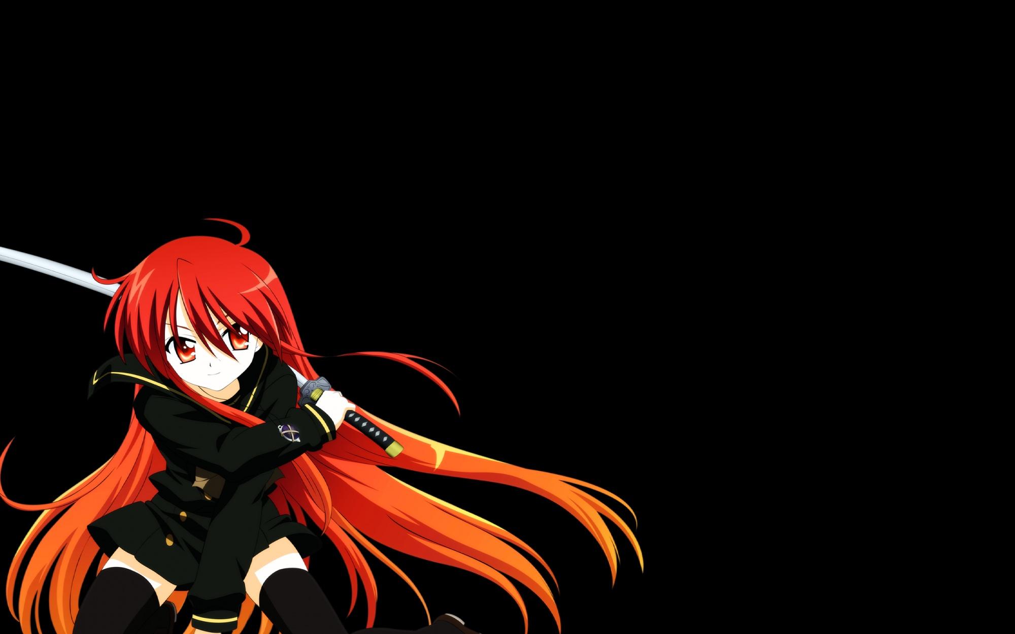 black shakugan_no_shana shana sword weapon