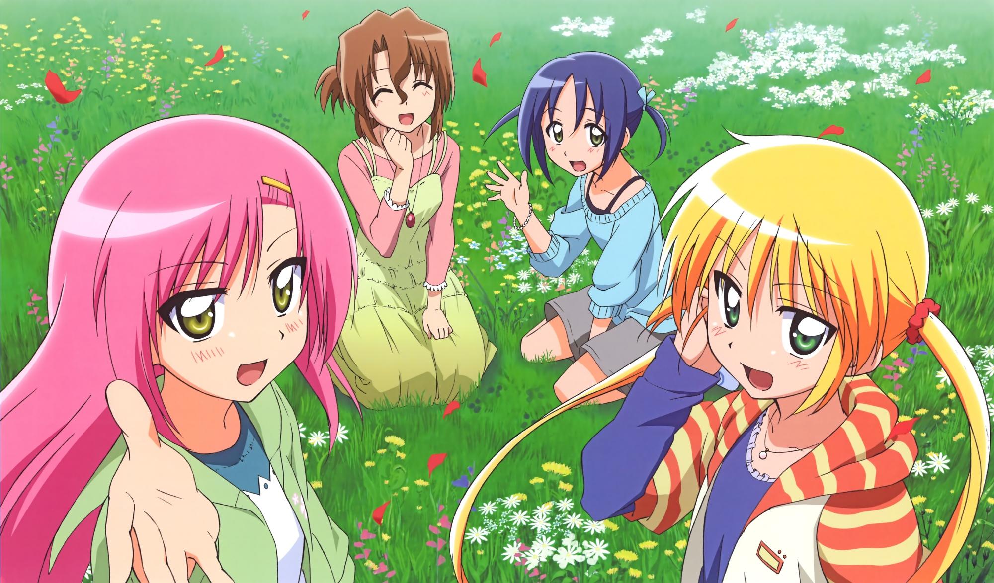hayate_no_gotoku katsura_hinagiku maria_(hayate_no_gotoku) nishizawa_ayumu sanzenin_nagi scan