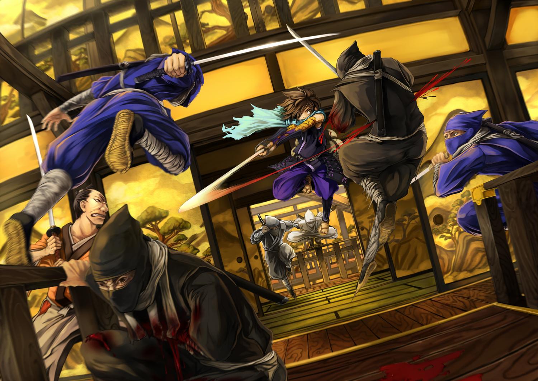 Blood Katana Kisuke Ninja Oboro Muramasa Sword Visualcat Weapon