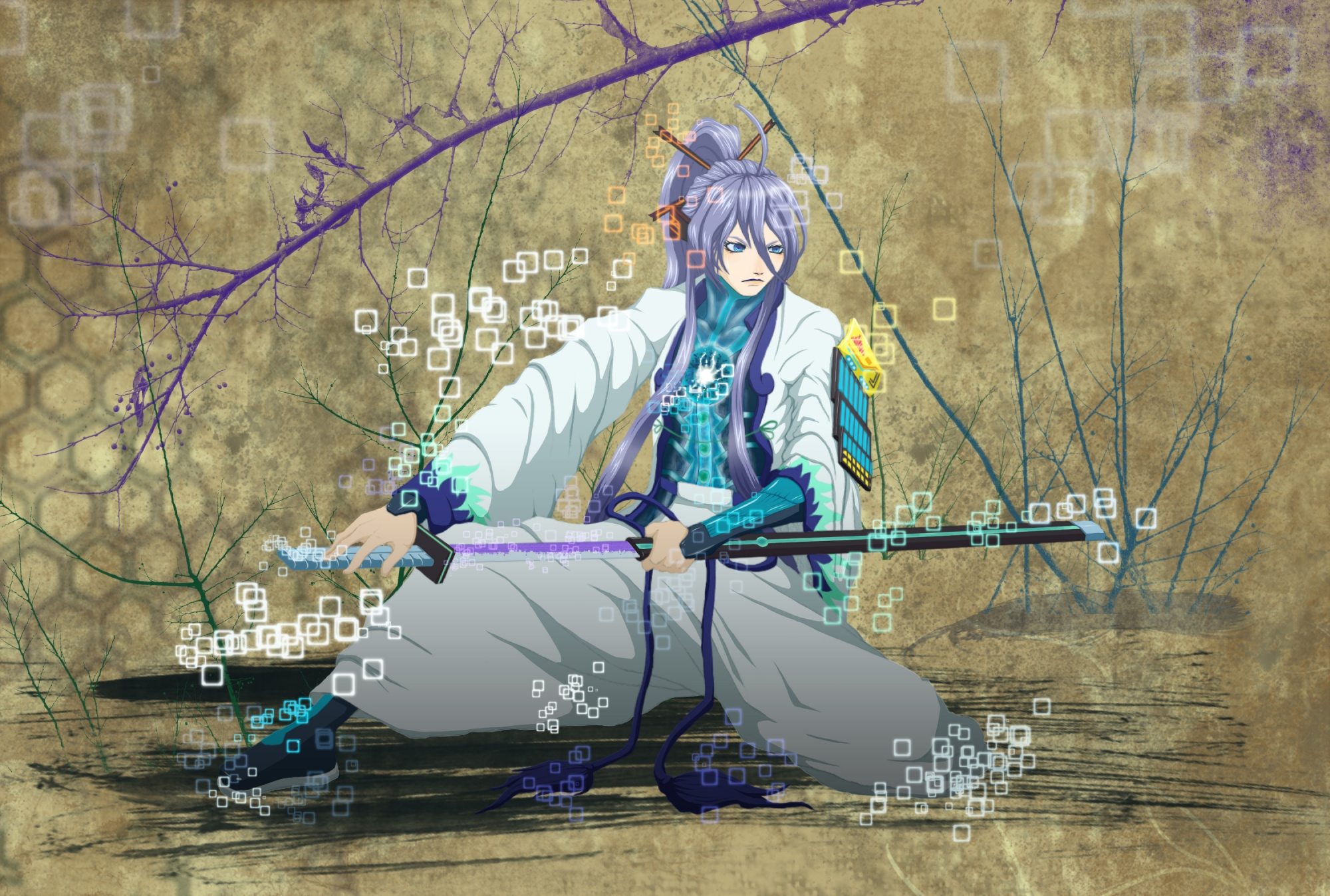kamui_gakupo sword vocaloid weapon