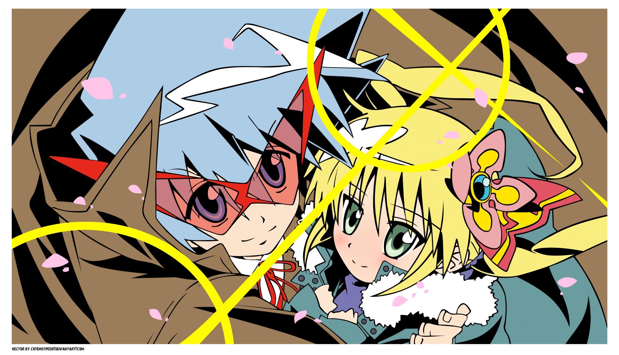 hayate_no_gotoku parody sanzenin_nagi vector