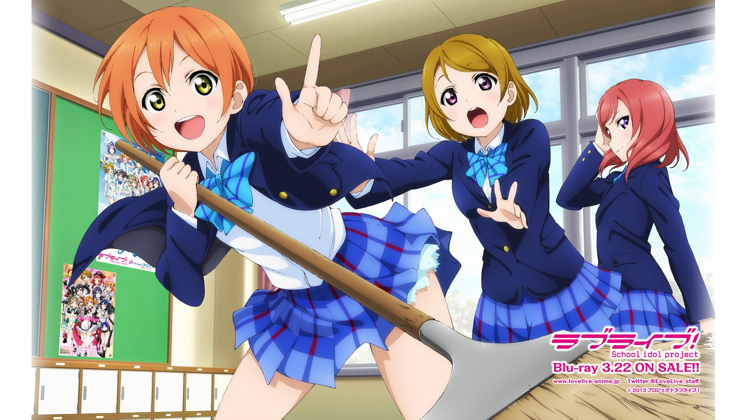 hoshizora_rin jpeg_artifacts koizumi_hanayo love_live!_school_idol_project nishikino_maki school_uniform