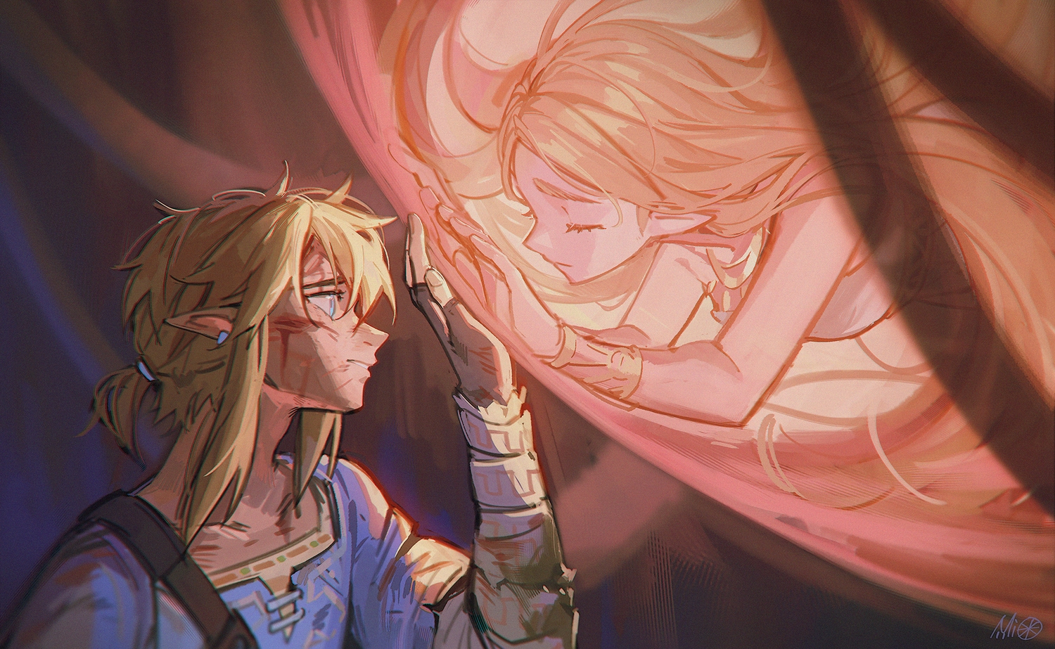 alzi_xiaomi link_(zelda) male princess_zelda the_legend_of_zelda