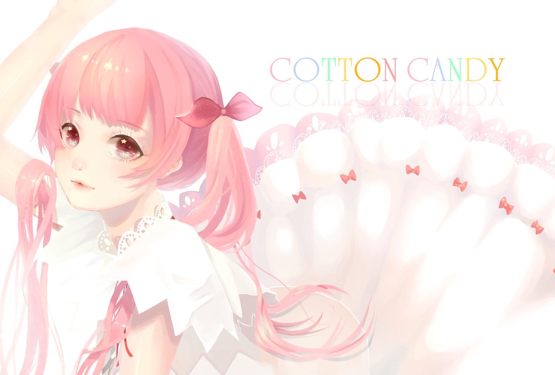 arik long_hair original pink_eyes pink_hair twintails