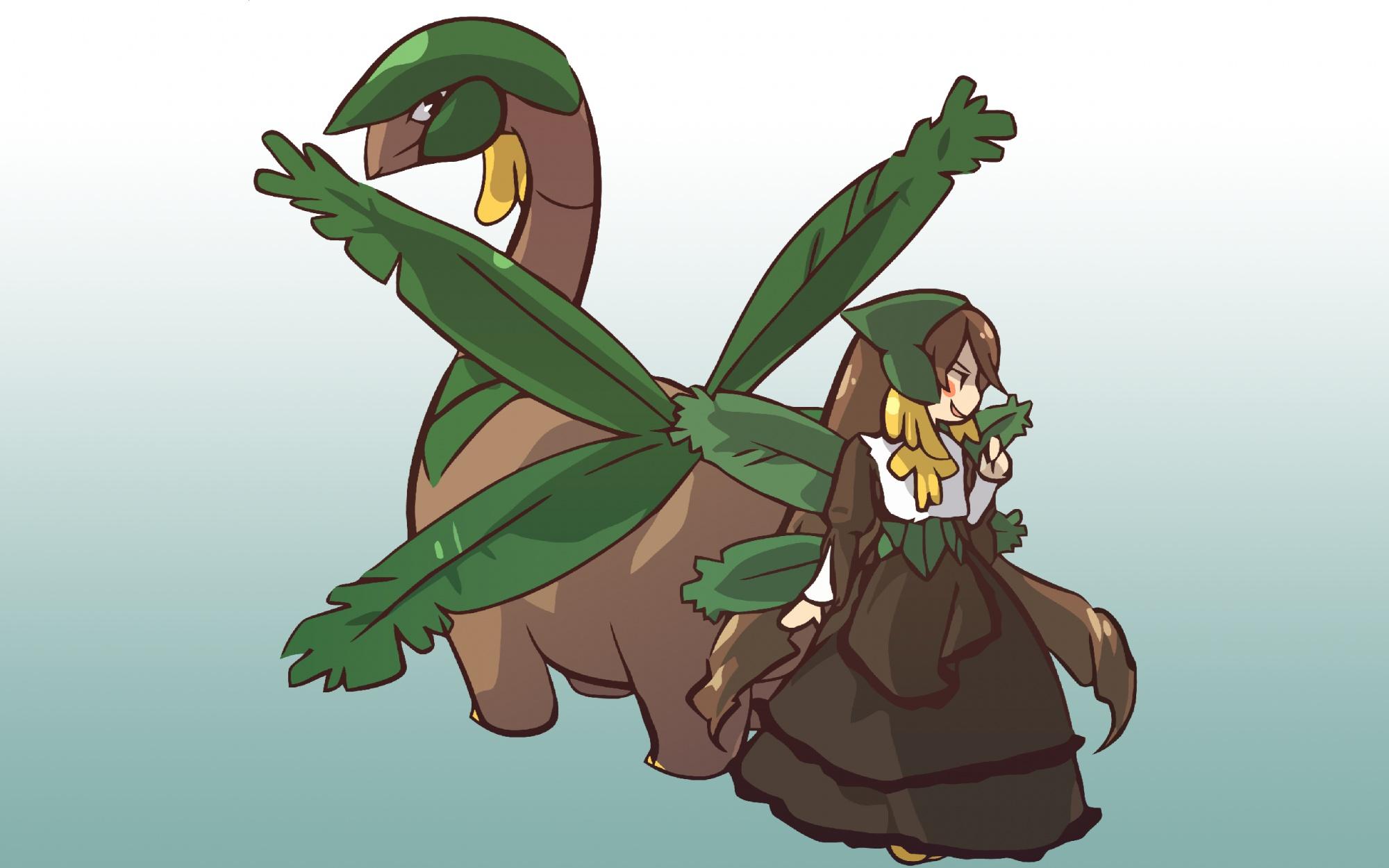 pokemon rozen_maiden suiseiseki tropius