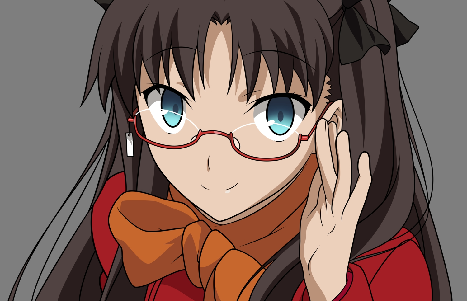 fate_(series) fate/stay_night tohsaka_rin transparent vector