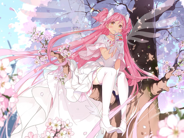 dress hoshii_hisa kaname_madoka mahou_shoujo_madoka_magica ultimate_madoka