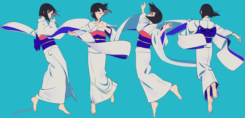 japanese_clothes kimono original umishima_senbon