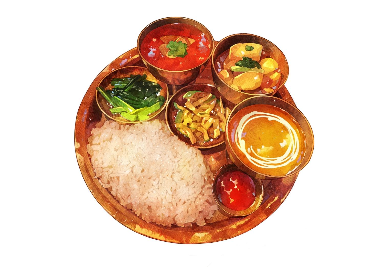 close food momiji_mao nobody original realistic third-party_edit white