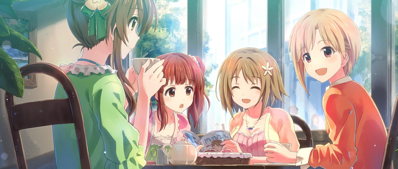 aiba_yumi group idolmaster idolmaster_cinderella_girls jpeg_artifacts mimura_kanako ogata_chieri takamori_aiko yuuki_tatsuya