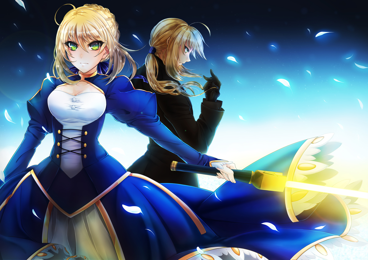 fate/stay_night fate/zero saber