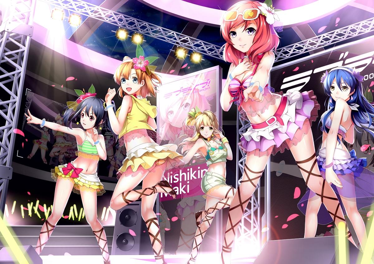 ello-chan group kousaka_honoka love_live!_school_idol_project minami_kotori nishikino_maki skirt sonoda_umi yazawa_nico