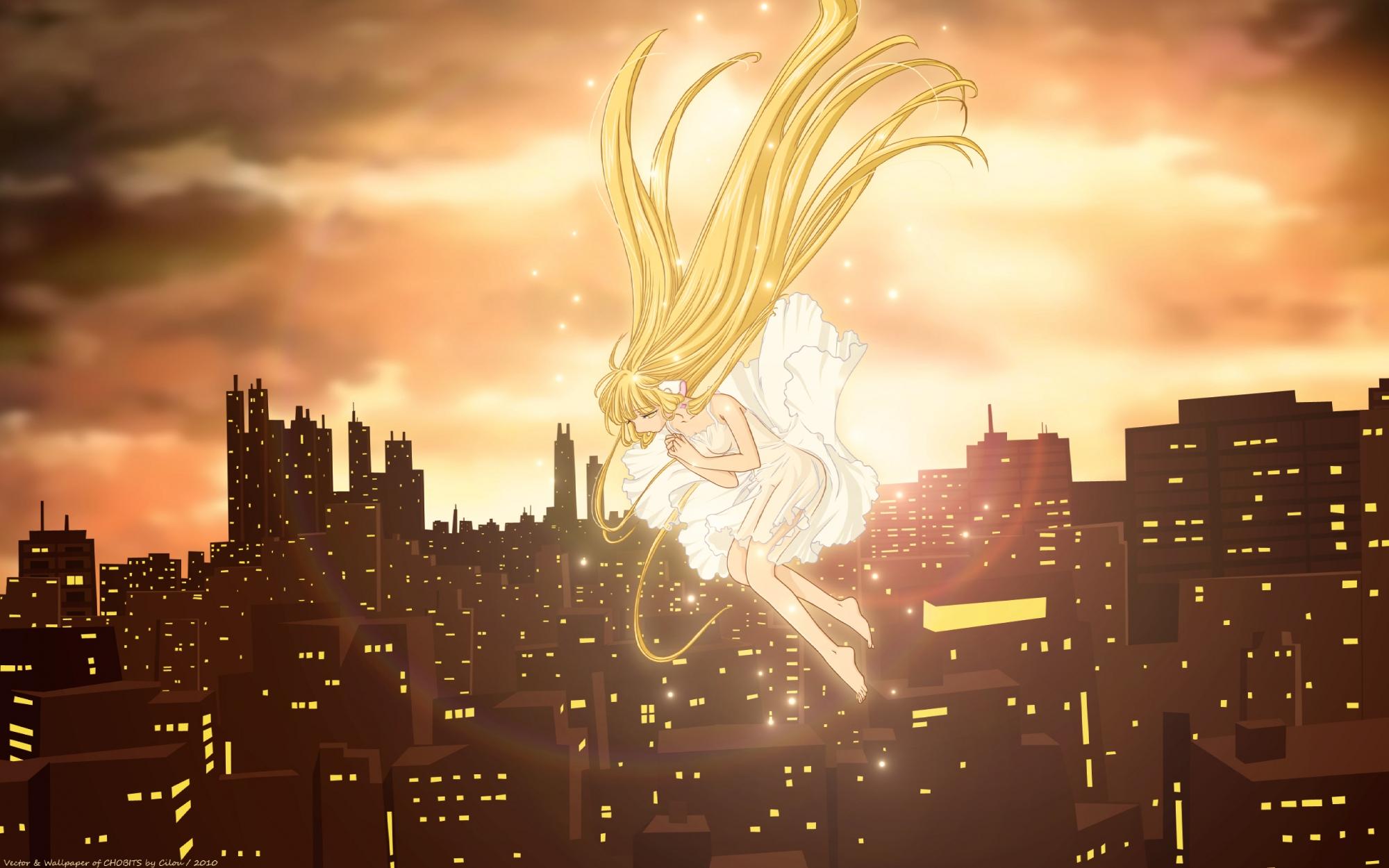 blonde_hair chii chobits