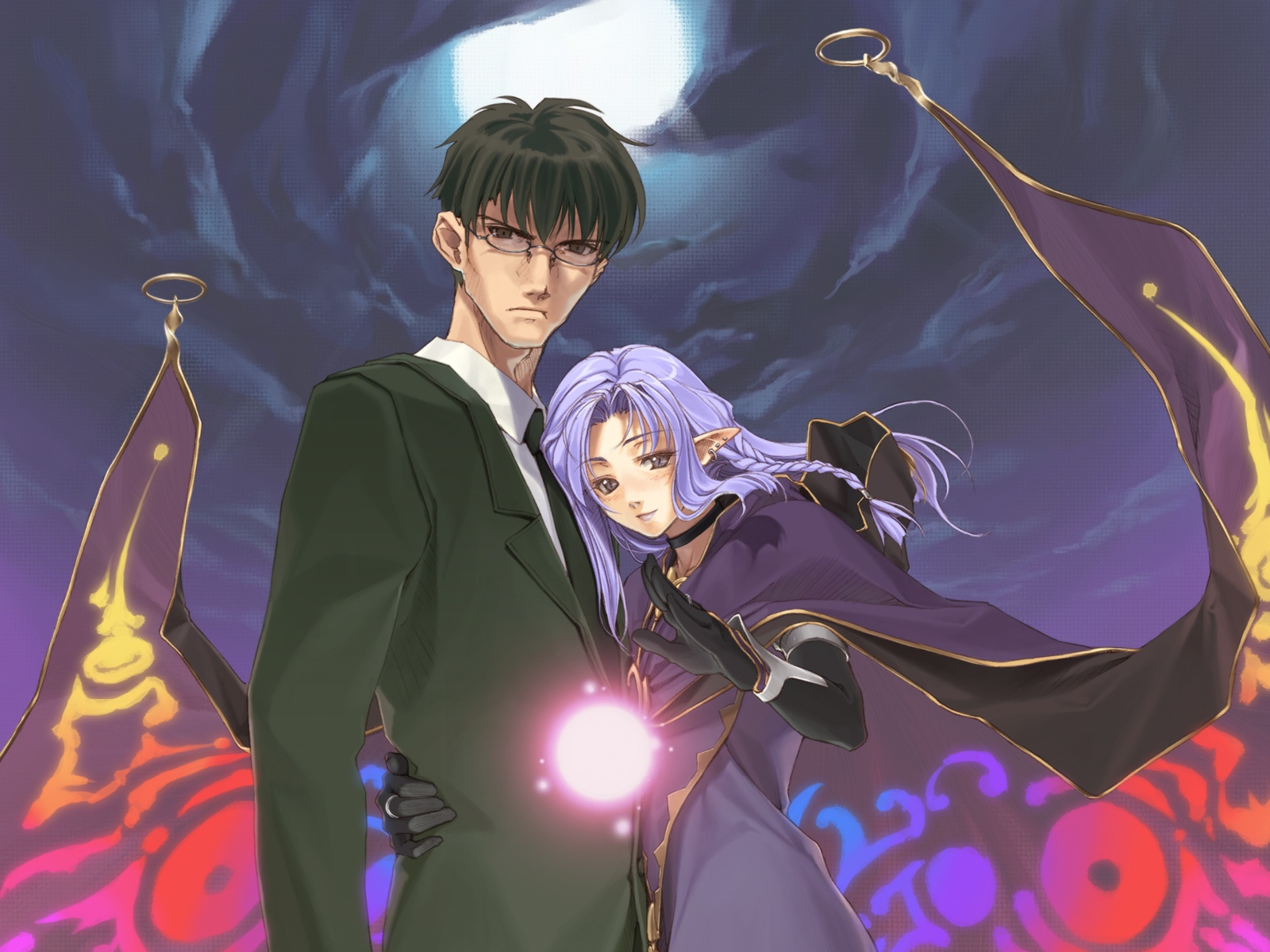 fate_(series) fate/stay_night kuzuki_souichirou medea_(fate) pointed_ears