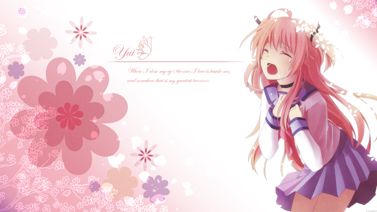 angel_beats! na-ga tagme yui_(angel_beats!)