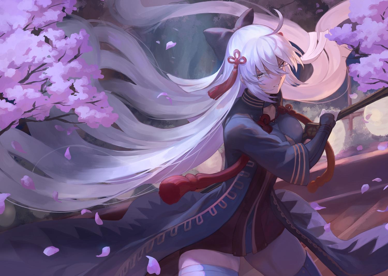 Fate Grand Order Fate Series Long Hair Mashu 003 Okita Souji