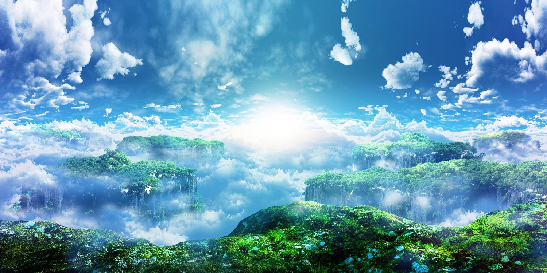3d clouds landscape nobody original scenic sky y-k