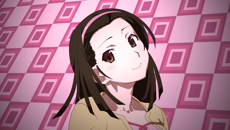 bakemonogatari brown_eyes brown_hair headband monogatari_(series) sengoku_nadeko short_hair vector