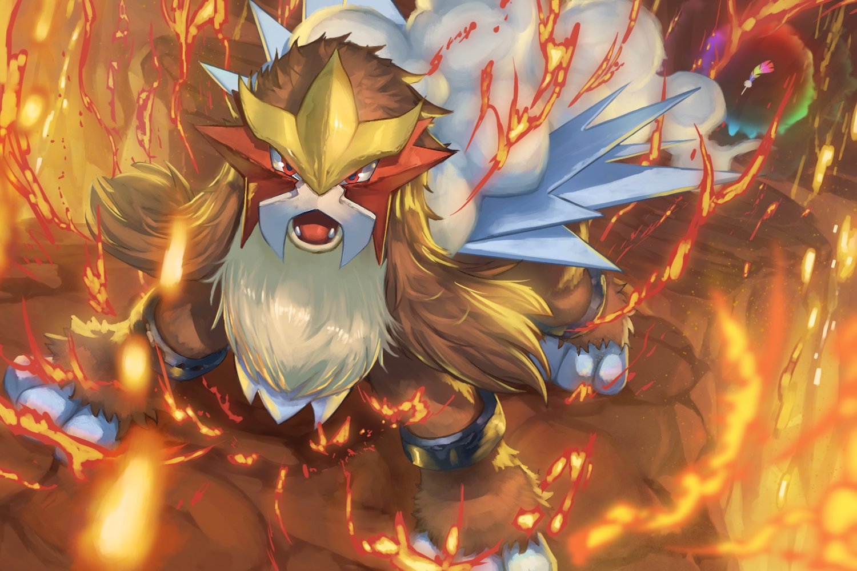entei feathers fire nobody pokemon spareribs