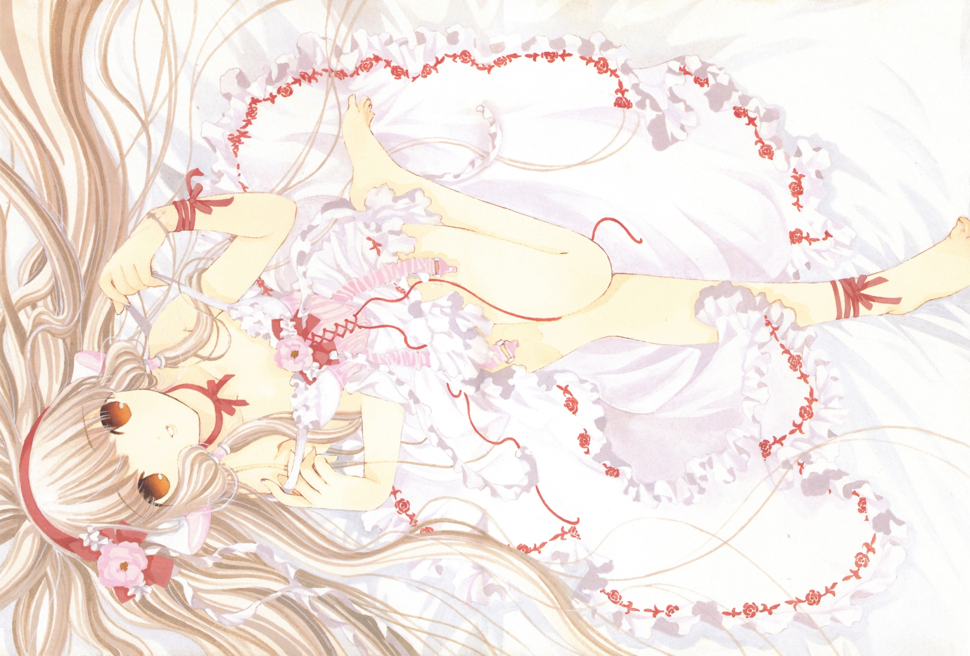 chii chobits clamp dress scan