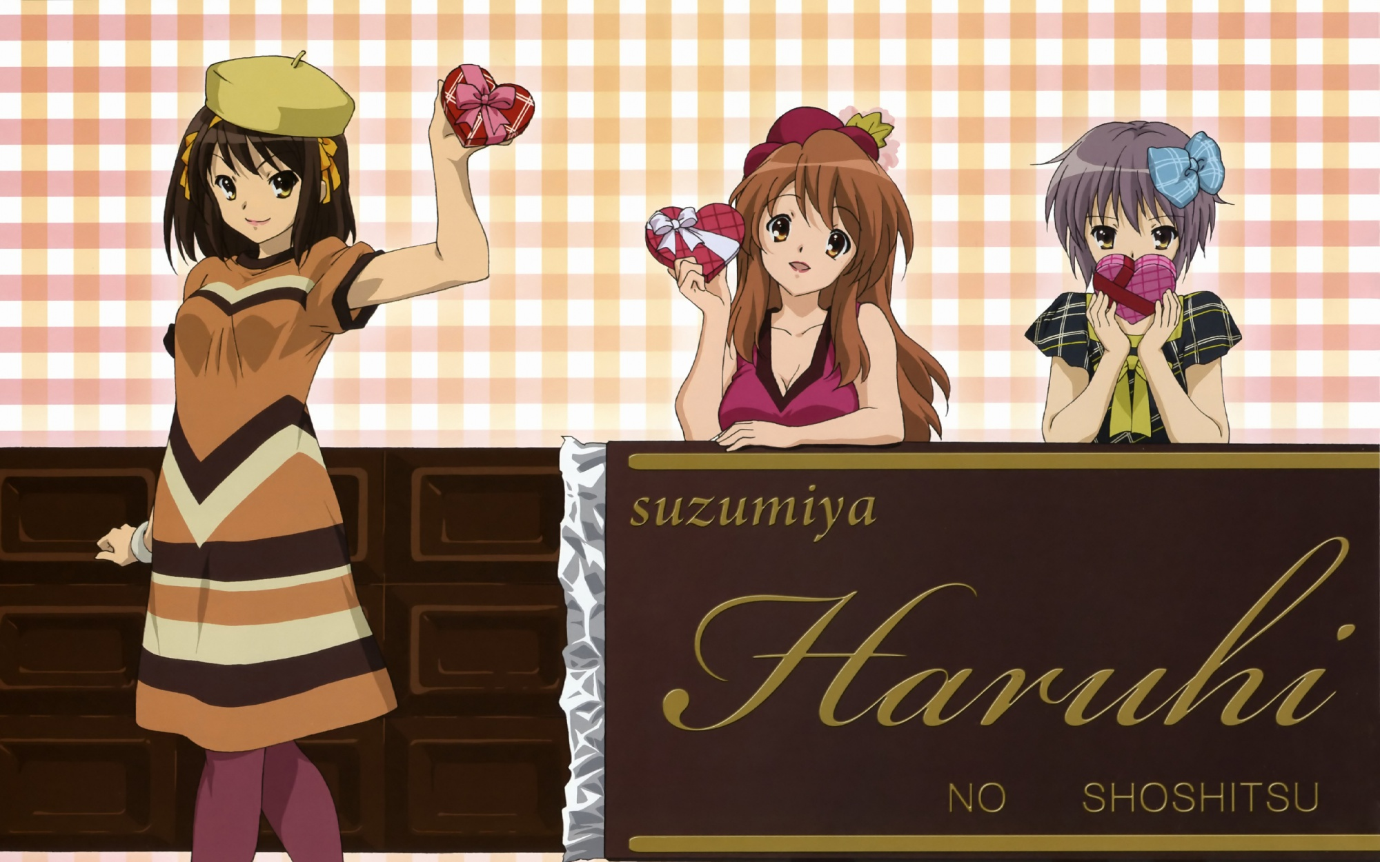 asahina_mikuru nagato_yuki suzumiya_haruhi suzumiya_haruhi_no_yuutsu