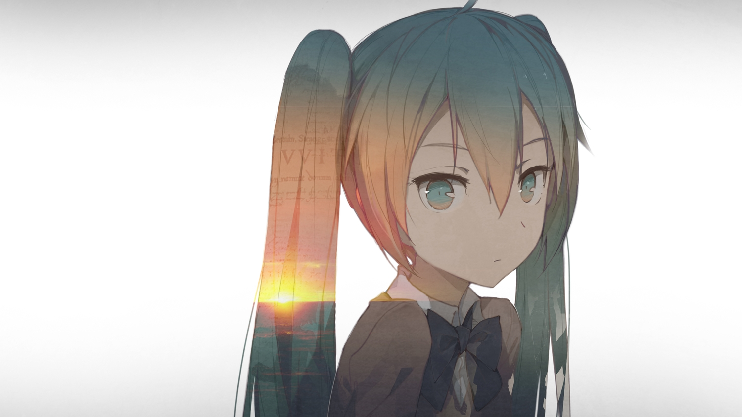 close hatsune_miku kieed vocaloid