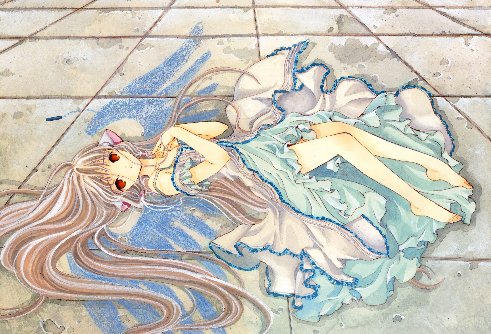 chii chobits clamp scan