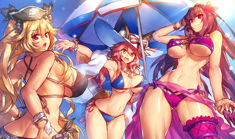 Animal Ears Anne Bonny Bikini Fate Grand Order Fate Series