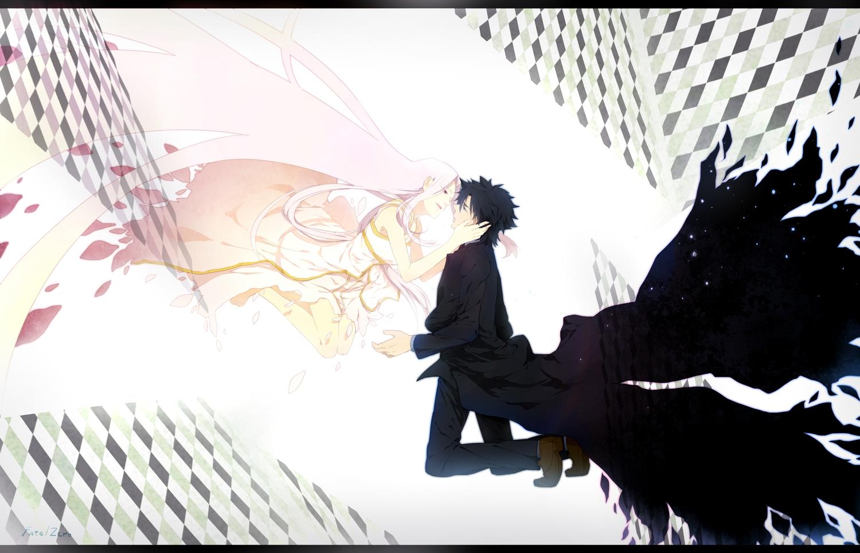emiya_kiritsugu fate_(series) fate/stay_night fate/zero irisviel_von_einzbern long_hair male pink_hair piroshiki123 suit