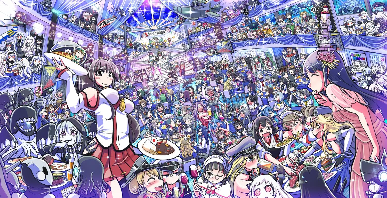 abukuma_(kancolle) admiral_(kancolle) agano_(kancolle) aircraft aircraft_carrier_hime aircraft_carrier_oni air_defense_hime_(kancolle) airfield_hime akagi_(kancolle) akashi_(kancolle) akatsuki_(kancolle) akebono_(kancolle) akigumo_(kancolle) akitsumaru_(kancolle) akitsushima_(kancolle) akizuki_(kancolle) amagi_(kancolle) amatsukaze_(kancolle) anchorage_hime anchorage_oni ancient_destroyer_hime ancient_destroyer_oni animal anthropomorphism aoba_(kancolle) arare_(kancolle) arashi_(kancolle) arashio_(kancolle) armor armored_aircraft_carrier_hime armored_aircraft_carrier_oni asagumo_(kancolle) asashimo_(kancolle) asashio_(kancolle) ashigara_(kancolle) atago_(kancolle) ayanami_(kancolle) battleship_hime battleship_water_oni bismarck_(kancolle) black_hair blonde_hair blue_eyes blue_hair braids breasts brown_hair camera cat central_hime cheerleader chibi chi-class_torpedo_cruiser chikuma_(kancolle) chitose_(kancolle) chiyoda_(kancolle) choukai_(kancolle) crying destroyer_hime destroyer_water_oni dress drink error_musume_(kancolle) failure_penguin fairy_(kancolle) fish flowers food fubuki_(kancolle) fumizuki_(kancolle) furutaka_(kancolle) fusou_(kancolle) glasses gloves gothic goth-loli graf_zeppelin_(kancolle) gray_hair green_eyes green_hair group ha-class_destroyer hagikaze_(kancolle) haguro_(kancolle) hamakaze_(kancolle) harukaze_(kancolle) haruna_(kancolle) harusame_(kancolle) hat hatsuharu_(kancolle) hatsukaze_(kancolle) hatsushimo_(kancolle) hatsuyuki_(kancolle) hayasui_(kancolle) headband headdress headphones heavy_cruiser_hime he-class_light_cruiser hibiki_(kancolle) hiei_(kancolle) hiryuu_(kancolle) hiyou_(kancolle) ho-class_light_cruiser horns houshou_(kancolle) hyuuga_(kancolle) i-168_(kancolle) i-19_(kancolle) i-401_(kancolle) i-58_(kancolle) i-8_(kancolle) i-class_destroyer ikazuchi_(kancolle) inazuma_(kancolle) iowa_(kancolle) irako_(kancolle) ise_(kancolle) isokaze_(kancolle) isolated_island_oni isonami_(kancolle) isuzu_(kancolle) japanese_clothes jintsuu_(ka