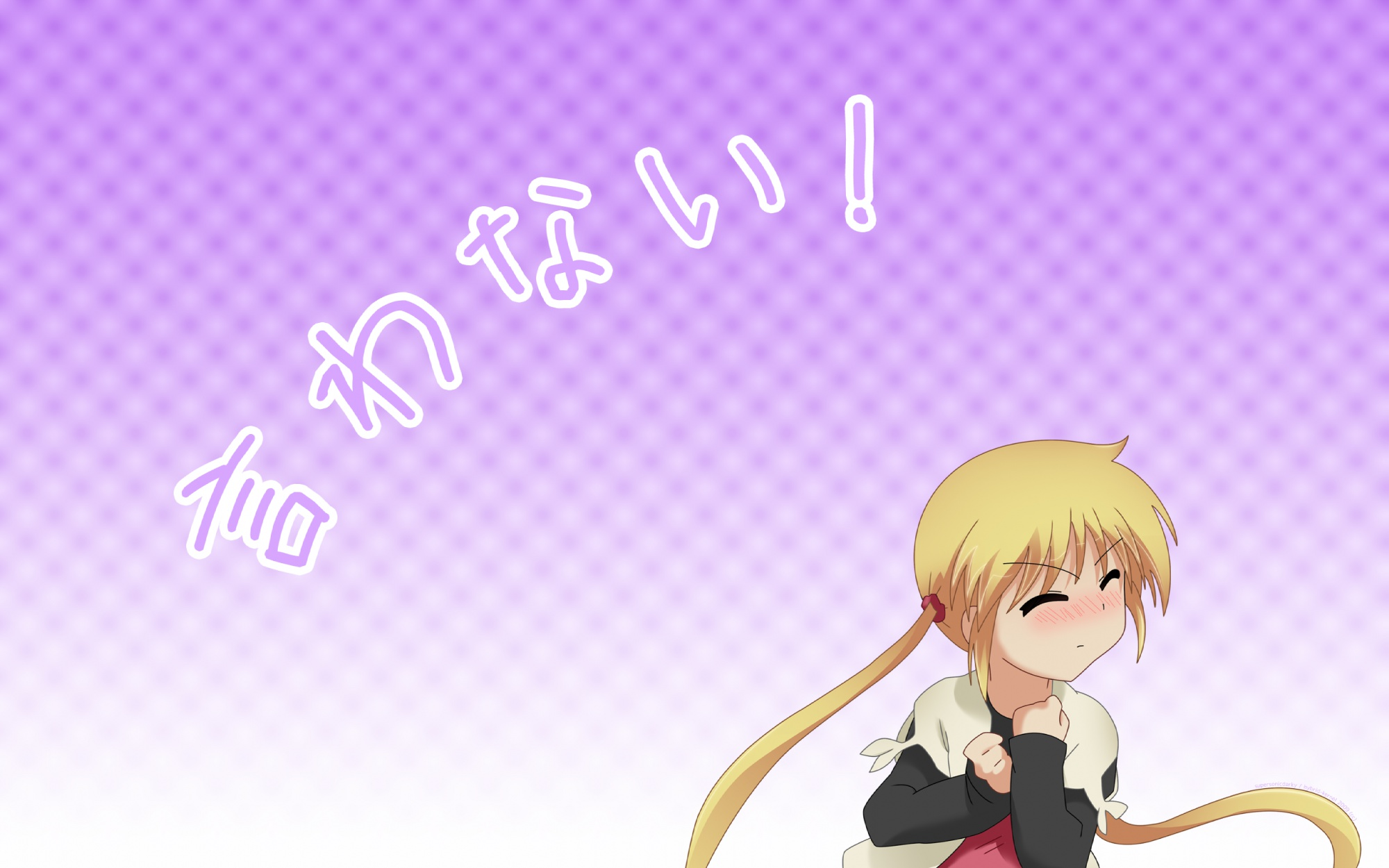 hayate_no_gotoku sanzenin_nagi supersonicdarky twintails