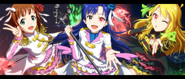 amami_haruka hoshii_miki idolmaster kisaragi_chihaya kouchou_(artist)