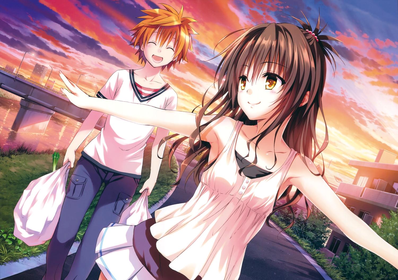 loli male to_love_ru to_love_ru_darkness yabuki_kentarou yuuki_mikan yuuki_rito