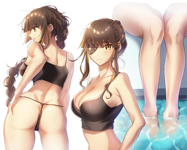 anthropomorphism girls_frontline m16a1_(girls_frontline) moa_(21energy12) waifu2x