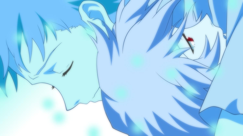 ayanami_rei blue ikari_shinji monochrome neon_genesis_evangelion vector