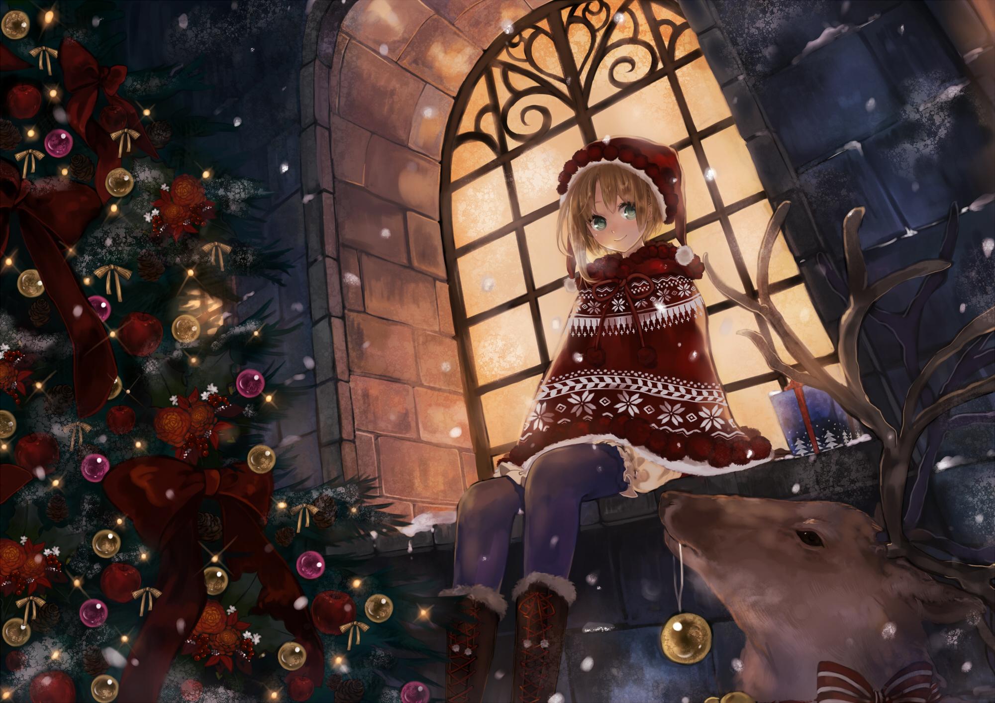 animal boots christmas hat original pantyhose pisuke reindeer tree