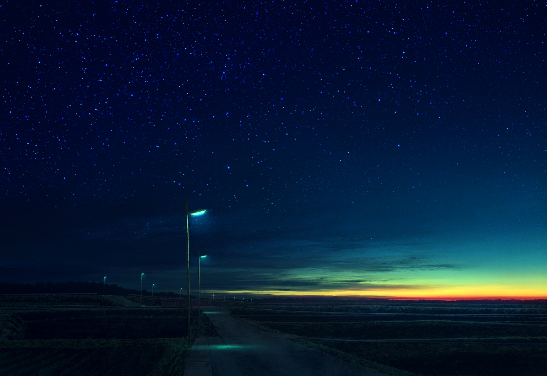 clouds mks night nobody original scenic sky stars