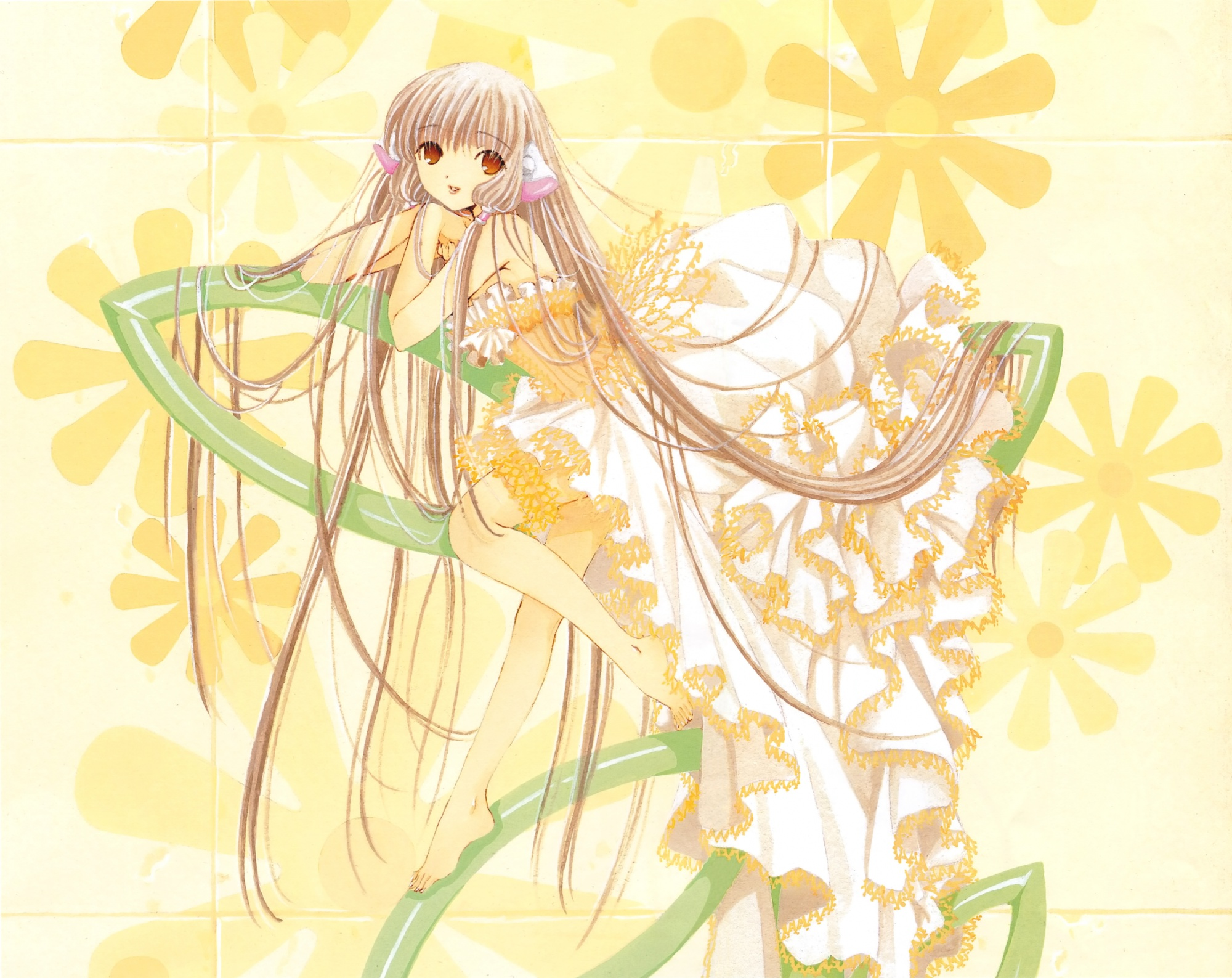 chii chobits clamp scan yellow