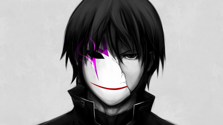 all_male black_eyes black_hair cropped darker_than_black gray hei male mask sukoburu_maeda third-party_edit